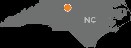 Greensboro's northernmost suburb